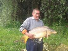 Herczog György 14,58 kg. ponty /2014.05.03./