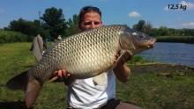 Krajczár Miklós /2014.07.13 - 12,5 kg ponty/