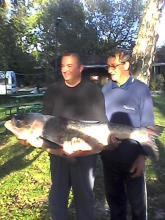 Busa 28 kg. /Varga István (jobbra) 2014.09.29/